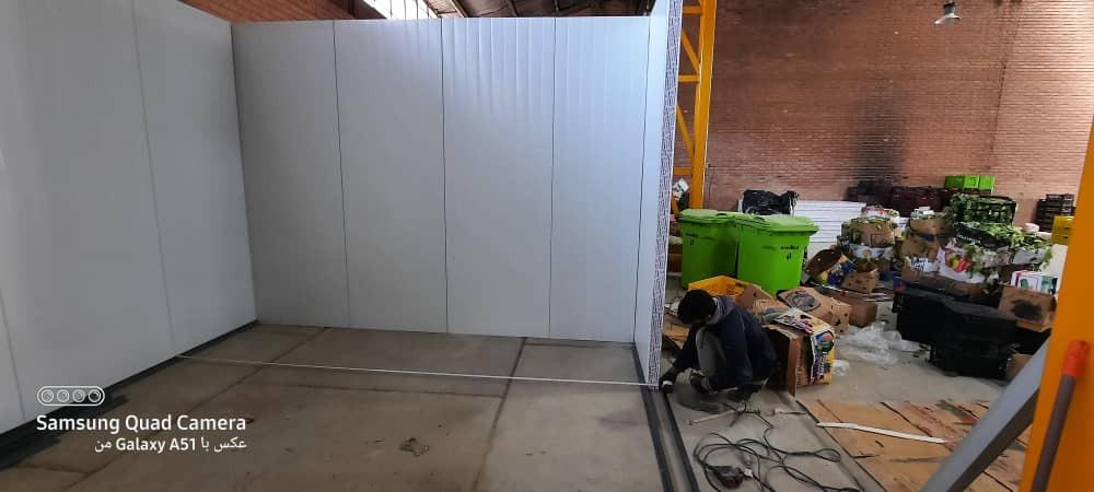 سردخانه در حال ساخت