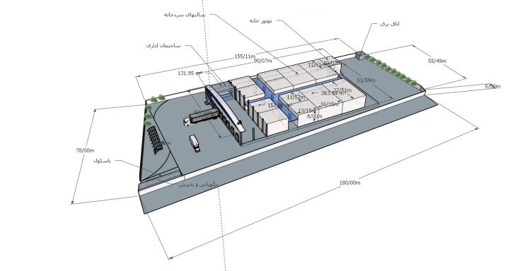 پروژه سردخانه تعاونی آزادی - شهریار