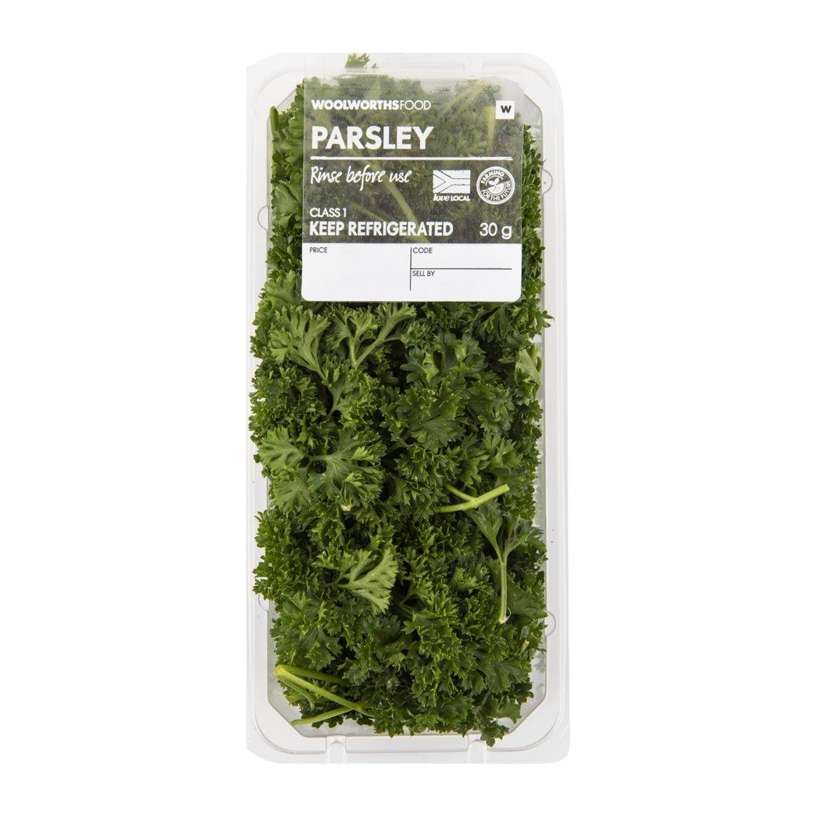 Parsley- جعفری فرنگی