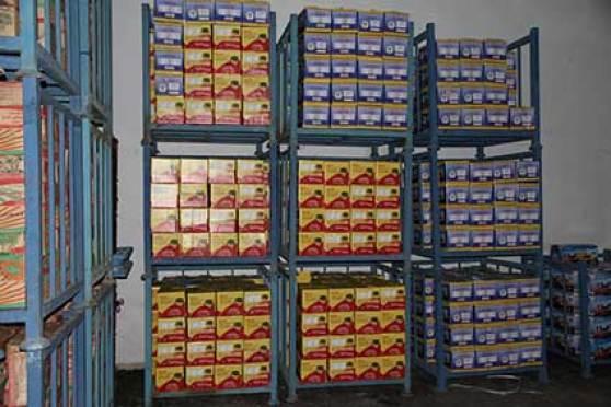 باکس پالت و محصولات داخل آن